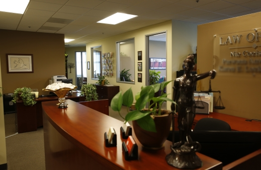 Nic Cocis law office interior